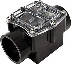 Valterra 310-20 CPVC Corrosion Resistant Check Valve, Black, 2