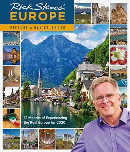 Rick Steves Europe Picture-A-Day Wall Calendar