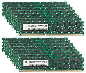 DDR3 PC3-10600R ECC Server Memory RAM for IBM X3650 M2 Type 7947 16x8GB 128GB