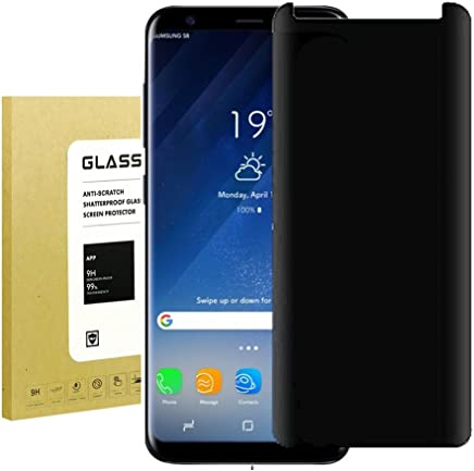 for Samsung Galaxy S8 Plus Privacy Anti-Spy Tempered Glass Screen Protector ,Caryan[