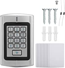 Suchinm Access Control Keypad, Metal Case Password Card Reader Door Access Control Wiegand Interface Keypad for Outdoor Door Use(1#)