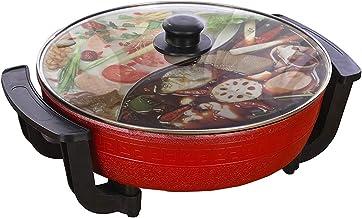 Pot de canard mandarin, Double Hot Pot, Fondue chinoise, Hot Pot électrique multifonctionnel antiadhésif domestique de 6L ...