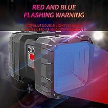 Multi-Function Household Super Bright Double Head Flashlight, Portable Light Rechargeable Super Bright Long-Range 5000 Xen...