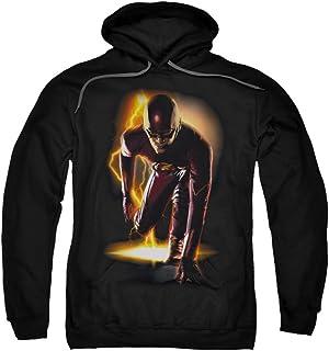 Flash Sudadera con capucha para hombre, color negro