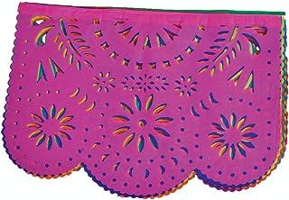 Papel Picado Enramada Destello Floral