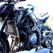 MUJUN Reserva CNC de aleaci/ón de Aluminio For Kawasaki Z900 Z 900 2017 2018 2019 Motocicleta estribera Set reposapi/és Trasera del tal/ón de Placas Protector Color : Black