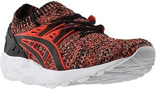 ASICS Gel-Kayano Trainer Knit Training Men's Shoes Size 10 Black/Cherry Tomato