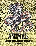 Livre de coloriage pour débutants - Mandala - Animal (French Edition)