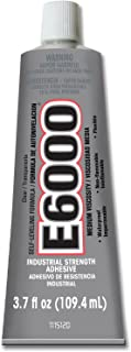 Eclectic Products 230021 4 Pack 3.7 oz. E-6000 Medium Viscosity Multi-Purpose Adhesive Uncarded, Clear