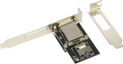SilverStone 内部SAS/SATAポートを外部インターフェイスに変換するアダプタ SST-SA011 【日本正規代理店品】