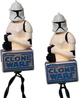 Star Wars 10-Light Clone Trooper Light Set
