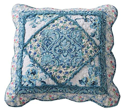 Tache Home Fashion JHW-646-T-CC Funda de cojín, Azul, 18 x 18