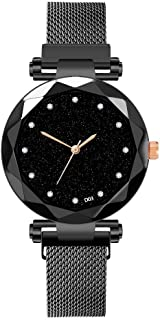Ladies Watch Starry Sky Women Watches Bracelet Magnetic Stainless Wristwatche