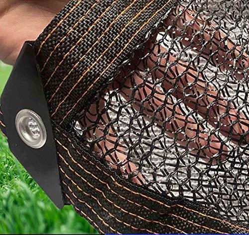 xiaoshuidi123 Telas para toldos Malla Resistente a los Rayos UV Tasa de sombreado 55% Aplicar para JardineríA Flores BalcóN Patio Verdor Sombra UV,Prueba Polvo,Invernadero (2×6m/7×20ft)