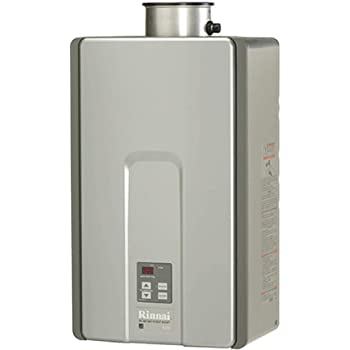 Rinnai RL Series HE+ Tankless Hot Water Heater: Outdoor Installation, RL94eN - Natural Gas/9.4 GPM, Large