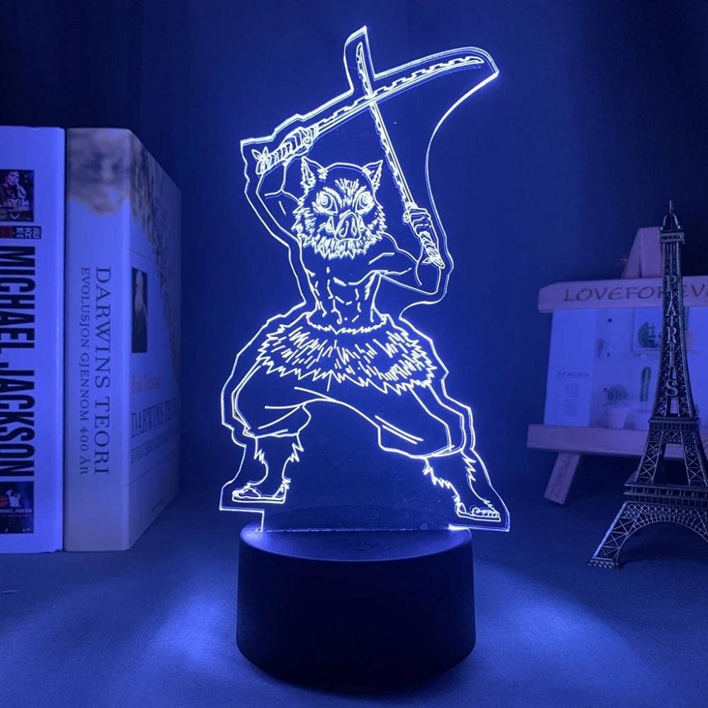 Devil Slayer Japanese Anime Light Sign C LED 16 New products, world's highest quality popular! 3D Lamp Challenge the lowest price Illusion