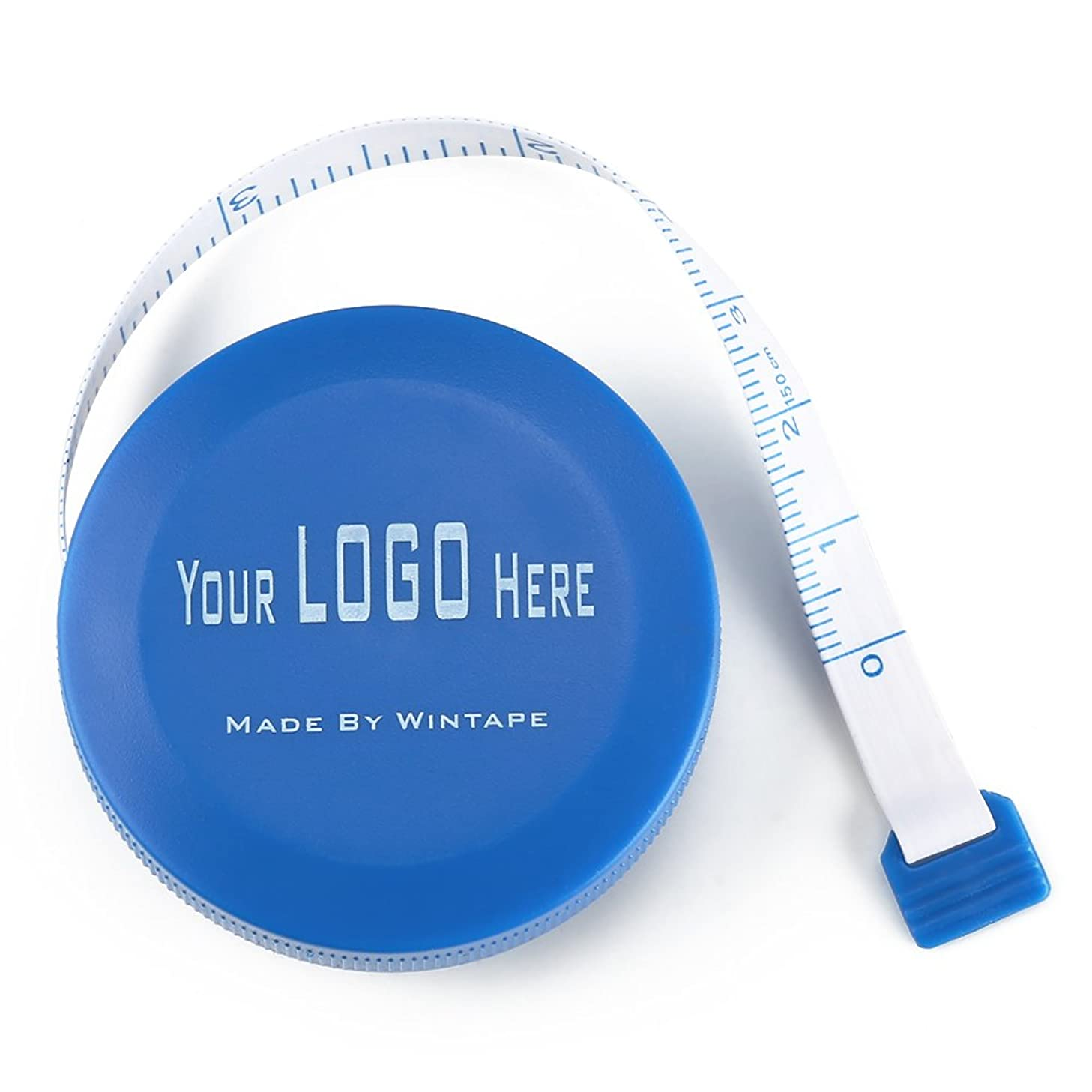 Wintape 3 Pcs Blue Color Retractable Tape Measure Sewing Accessory Set & Gifts of Waist Measuring Tape