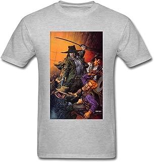 Newm Men's Preacher Comic O Neck Short Sleeve T Shirt