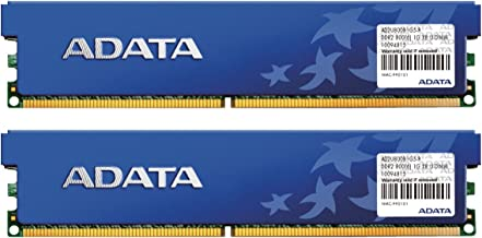 ADATA DDR2 800Mhz 2GB Kit 2 x 1GB CL5 Desktop Memory with Heat Spreader AD2U800B1G5-DRH
