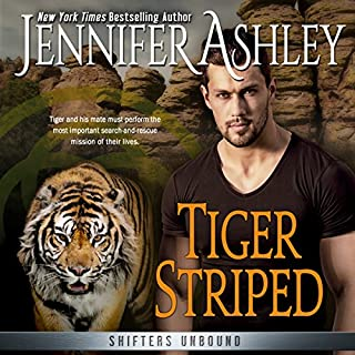 Tiger Striped     Shifters Unbound, Book 11.5              Written by:                                                                                                                                 Jennifer Ashley                               Narrated by:                                                                                                                                 Cris Dukehart                      Length: 2 hrs and 18 mins     2 ratings     Overall 5.0