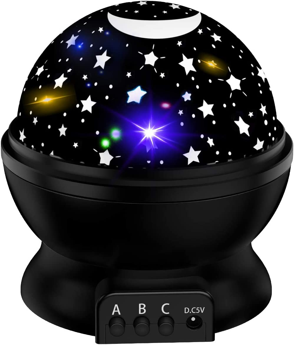 Star favorite Projector Night Light for Kids Gifts Daily bargain sale Gir 3-12 Old Year