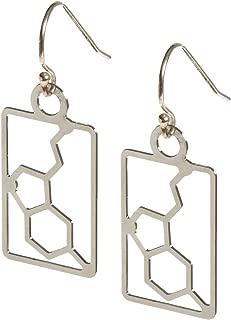 Anatomology Serotonin Molecular Structure Earrings