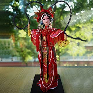 Adornment Old Chinese Style Beijing Yiren Forbidden City Gift Peking Opera Drama Face Dolls Features Crafts 33cm-12 inch S...