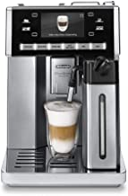 DeLonghi ESAM 6900.M Delonghi ESAM6900 Prima Donna Exclusive Fully Automatic Espresso Maker with Lattecrema System, Stainless Steel (Renewed)