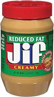 jif reduced fat peanut butter