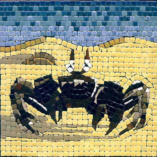ALEA Mosaic Juego de manualidades con mosaico de 15 x 15 cm, cangrejo