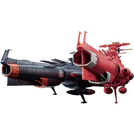 宇宙戦艦ヤマト2202 地球連邦主力戦艦 ドレッドノート級 火星絶対防衛線セット 1/1000スケール 色分け済みプラモデル