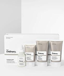 The Ordinary The Balance Set (4 Pcs: Squalance Cleanser + Salicylic Acid 2% Masque + Niacinamide 10% + Zinc 1% + Natural M...