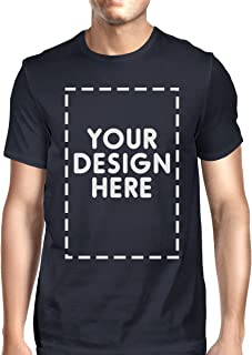 Custom T-Shirt Personalized Shirts Design Your Own Short Sleeve Tee