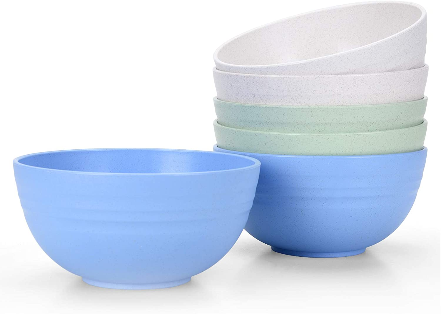 Set of 6 sold out Unbreakable Cereal Easy-to-use Bowls 24 Microwave and Dishwash OZ