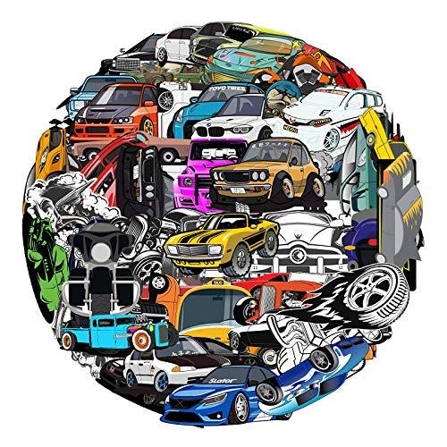LMY 61 piezas de coches modificados no repetir graffiti pegatinas equipaje refrigerador pegatinas coche bicicleta impermeable