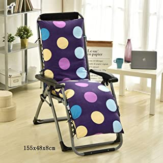 JRMU Thick Removable Chair Pads, 61'' High Back Patio Chaise Lounger Cushion Washable Window Pad Garden Outdoor Indoor Rocking Chair Recliner-b 61x19x3inch