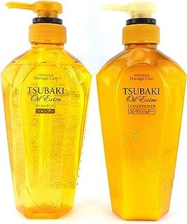 Shiseido Tsubaki Oil Extra Intensive Damage Care Shampoo & Conditioner Set