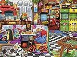 Buffalo Games - Aimee Stewart - Pixels & Pizza - 1000 Piece Jigsaw Puzzle