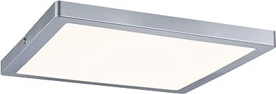 Paulmann 70867 Panneau LED WallCeiling Atria 300x300 mm 24 W chrome mat 230 V plastique