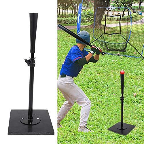 Batting Tee Trainer, Baseball Batting Tee, Baseball-Trainingshilfe für Sportliebhaber, Schwarz
