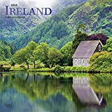 Ireland 2022 12 x 12 Inch Monthly Square Wall Calendar with Foil Stamped Cover, Scenic Travel Dublin Irish