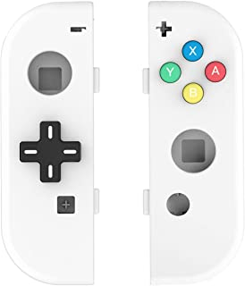 Myriann 任天堂 Nintendo Switch ニンテンドー カラー置換ケース 代わりケース 外殻 ついに登場! (ホワイト+)