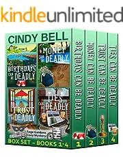 Sage Gardens Cozy Mystery Series Box Set Volume 1 (Books 1 - 4) (Sage Gardens Cozy Mysteries Box Set)