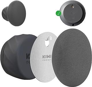 KIWI design Wall Mount Holder for Nest Mini by Google (2nd gen), Space Saving Outlet Mount Superb Cord Management Compatib...