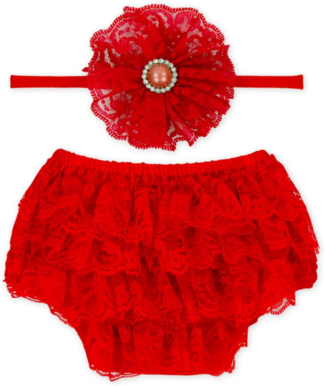 Rush Dance Lace Ribbon Max 60% OFF Baby Covers Ranking TOP19 Head Bloomers Ruffle Diaper