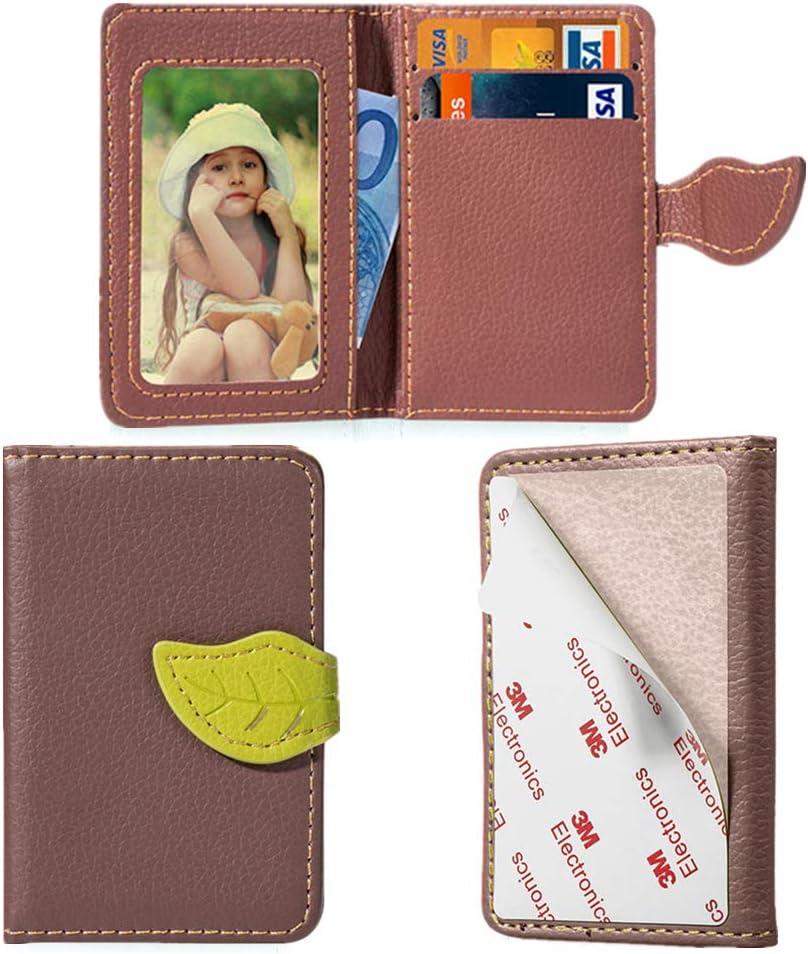 MEUPZZK Cell Phone Wallet Slim 3M Holder Regular dealer Card Adhesive Credit St Excellence