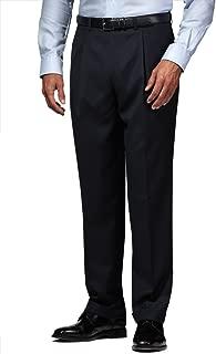 Suit Dress Pants Separates Slacks Pleated Trouser Charcoal