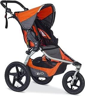 BOB Revolution Flex 2.0 Jogging Stroller - Up to 75 pounds - UPF 50+ Canopy - Adjustable Handlebar, Canyon