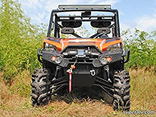Super ATV Polaris Ranger Fullsize 570/900 High Clearance Forward Offset A-Arms (Black)