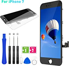 for iPhone 7 Screen Replacement, BuTure LCD Display Touch Screen Assembly with Magnetic Repair Tools and Screen Protector (Black)